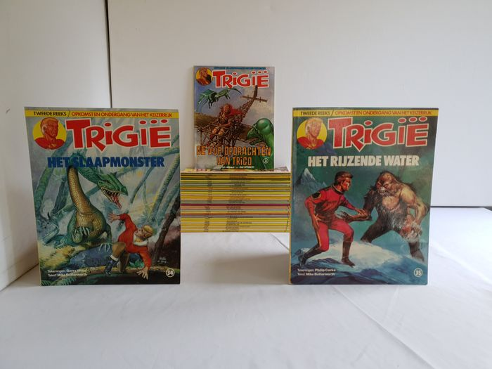 Trigië - Complete serie - Softcover - Different editions - (1978/1985)