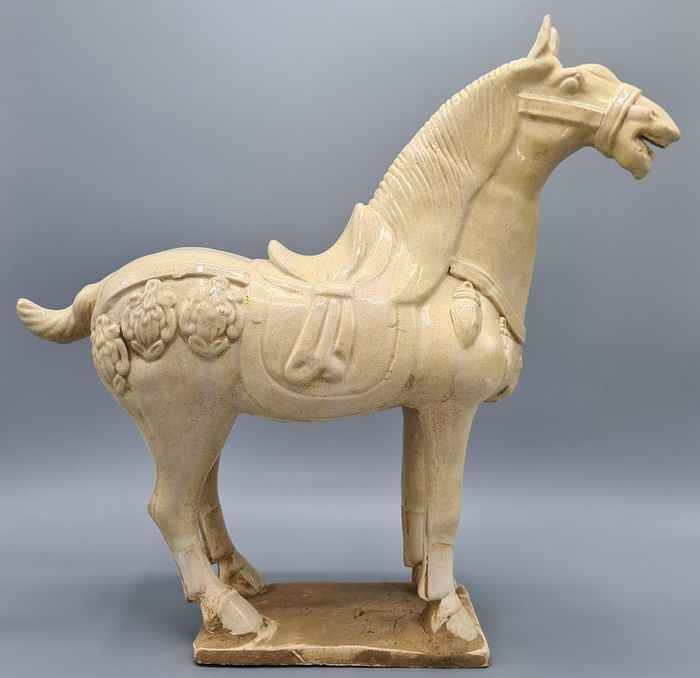 Decorative ceramic  Horse in the Tang style - Ceramic - China - Modern