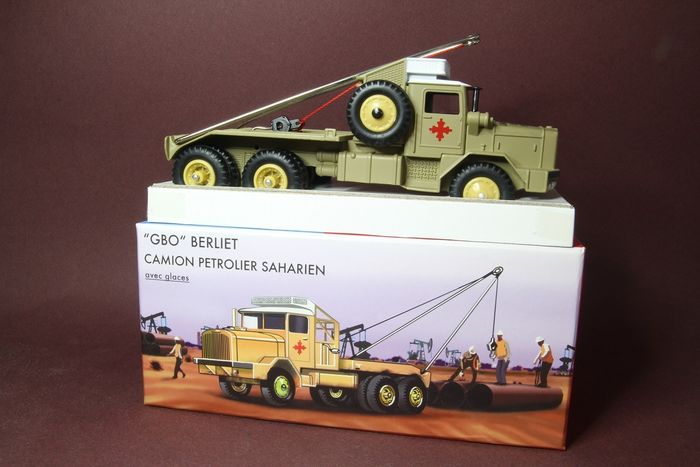 CIJ - 1:43 - Berlet GBO - toy from France