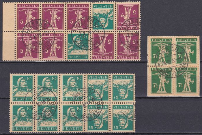Switzerland 1900/1936 - Collection about early issues