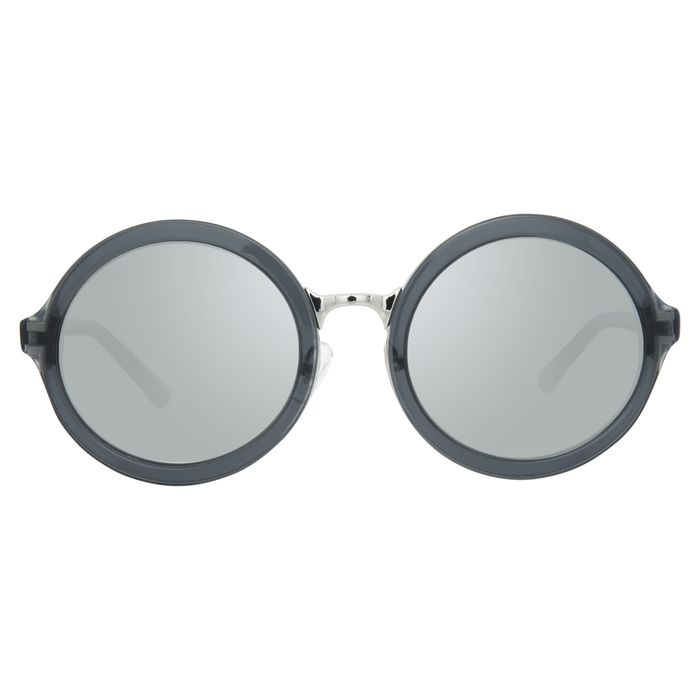 "Phillip Lim - Round Grey Nickel and Silver Mirror Lenses Category 3 - PL11C33SUN ""NO RESERVE PRICE"" Sunglasses"