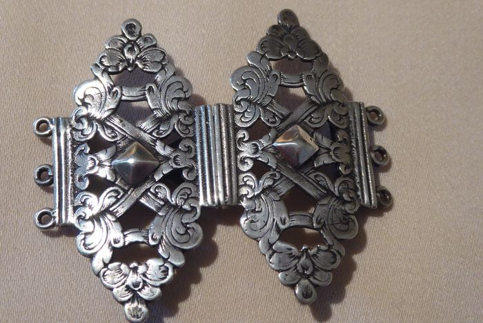 Buckle - Silver - Netherlands - Early 20th century