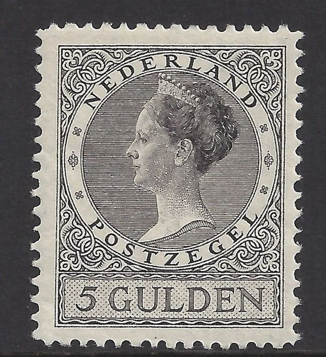 Netherlands 1926 - Queen Wilhelmina type 'Veth' - NVPH 165A