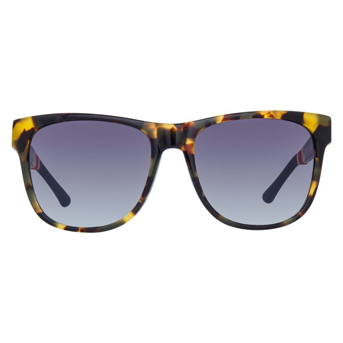 """Orlebar Brown - D-Frame Camo Tortoise Shell with Grey Graduated Lenses OB32C2SUN """"NO RESERVE PRICE"""" Sunglasses"""