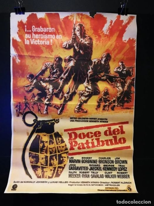 Unique, Large Collection of 561 vintage posters with great Artwork from the 1960's and 1970's  - Poster, Original Spanish Cinema releases - Please see photos