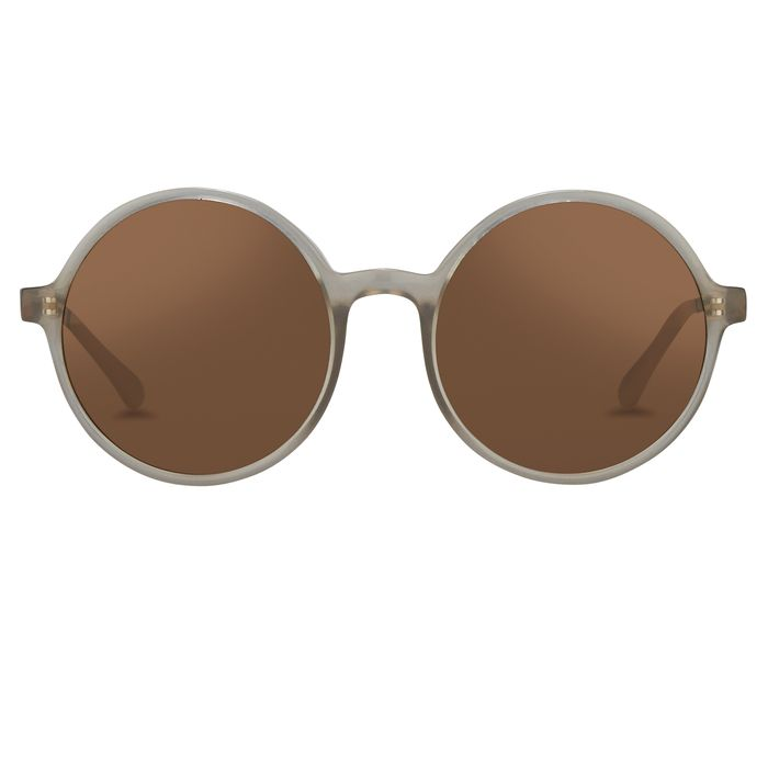 """Orlebar Brown - Round Mink with Metallic Brown Lenses Category 3 OB27C4SUN """"NO RESERVE PRICE"""" Sunglasses"""