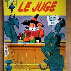 Lucky Luke T13 - Le Juge - Softcover - First edition - (1959)