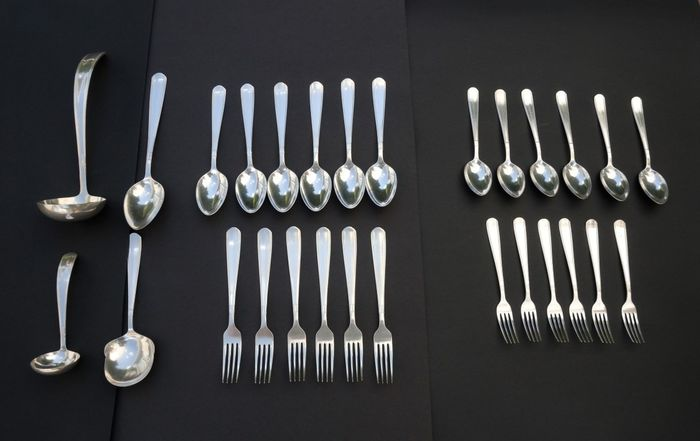 Georg Nilsson - Gero - Cutlery (28) - Silverplate