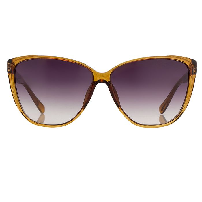 "Matthew Williamson - Cat Eye Caramel with Grey Lenses MW50C5SUN ""NO RESERVE PRICE"" Sunglasses"