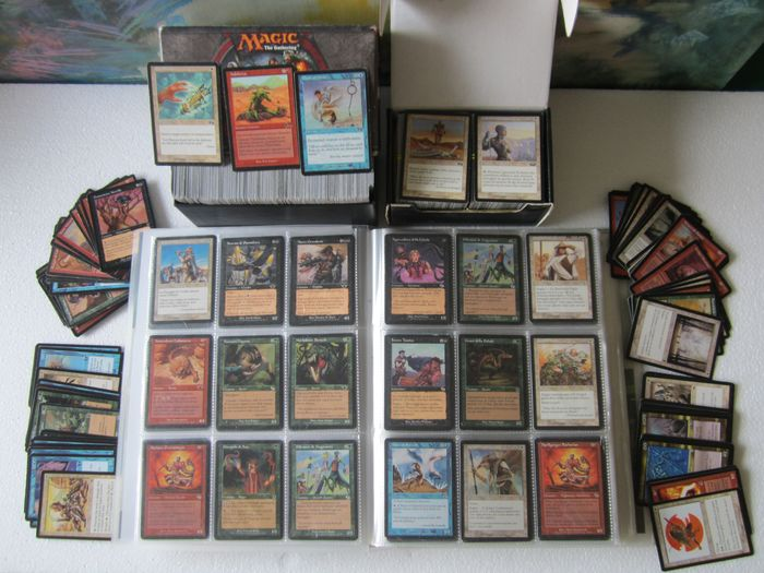 Magic: The Gathering 2590 trading cards - from 1995 onwards - Various editions