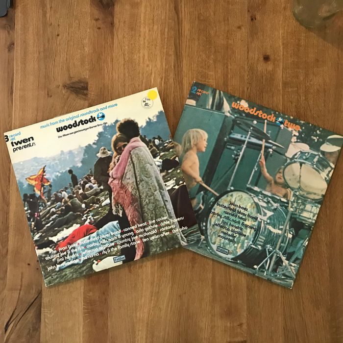 Woodstock & Related - Multiple titles - 2xLP Album (double album), 3xLP Album (Triple album) - 1970/1971