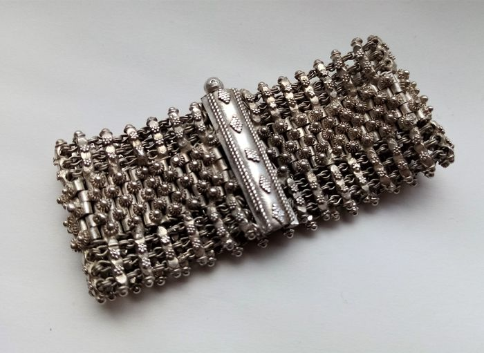 Enorme armband - .925 zilver - Rajasthan, India