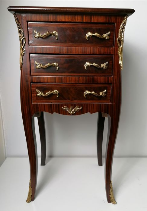 Chest of drawers - Marble, Wood