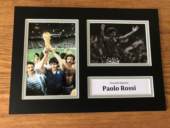 Italy - Football World Championships - Paolo Rossi - 1982 - Photograph