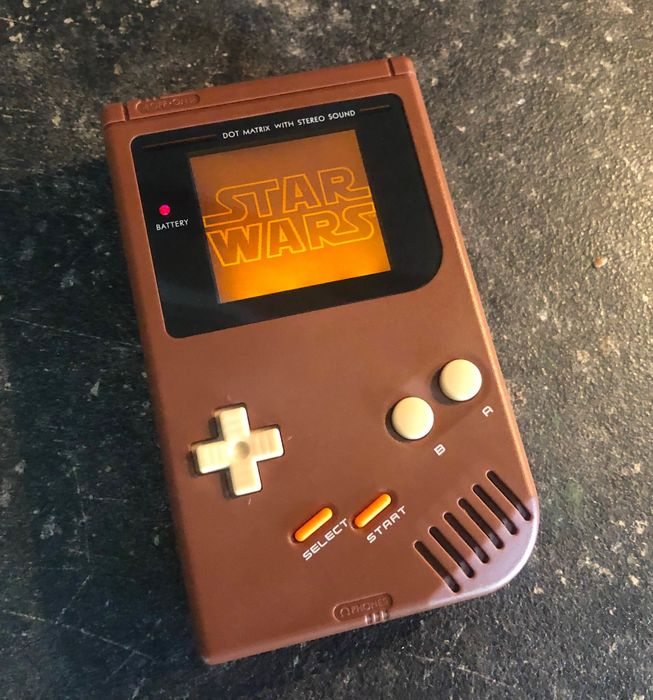 1 Nintendo Gameboy Classic - Jedi Star Wars Edition - Custom Made - Portátil (0) - Sin la caja original
