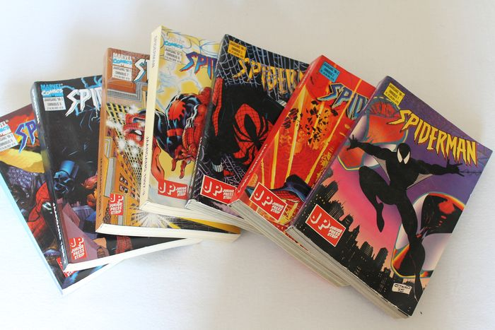 Spiderman - 7x Spiderman omnibus - Softcover - Different editions - (1996/1998)