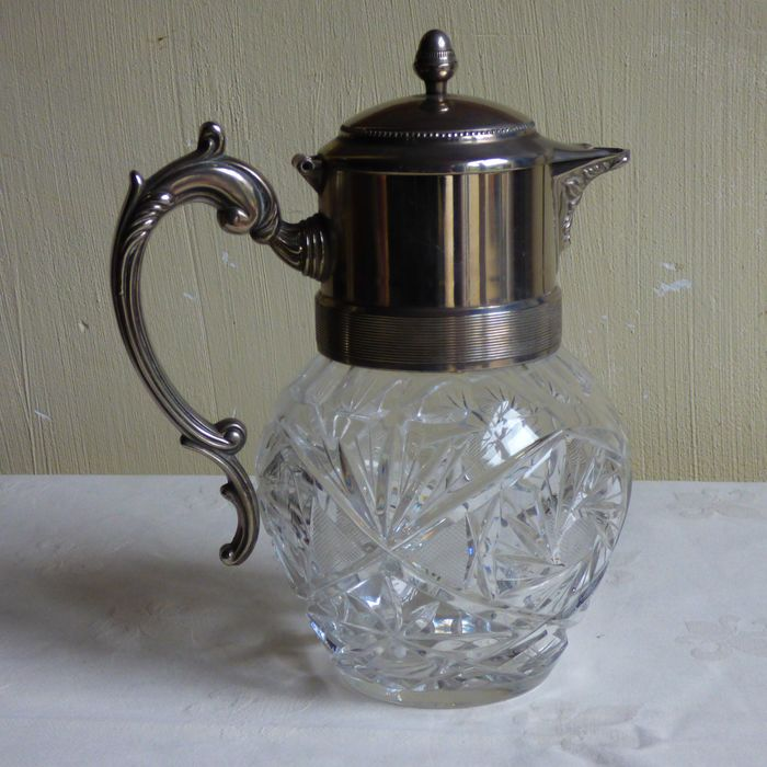 Carafe for water / port or wine (1) - Crystal