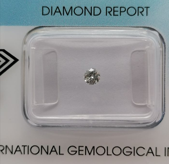 1 pcs Diamond - 0.12 ct - Brilliant - H - *** no reserve price** vvs2