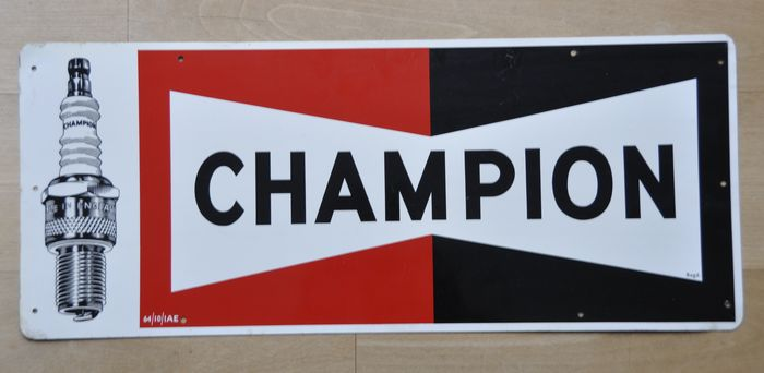 Sign - CHAMPION Zündkerzen - Champion - 1960-1970