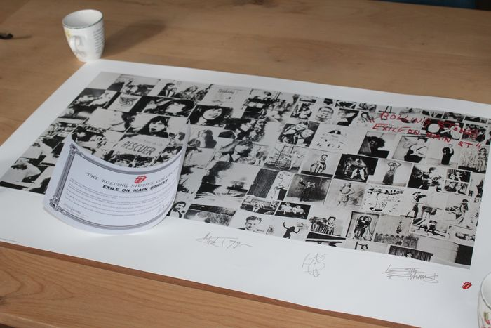 Rolling Stones - Exile on Main Street - Lithograph - 1994/1994