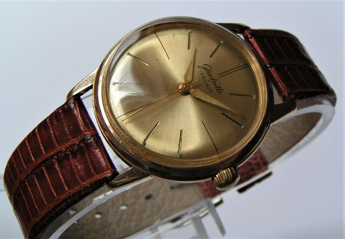 "GUB Glashütte - Mechanizm 70.1 - ""NO RESERVE PRICE"" - 158171 - Men - 1950-1959"