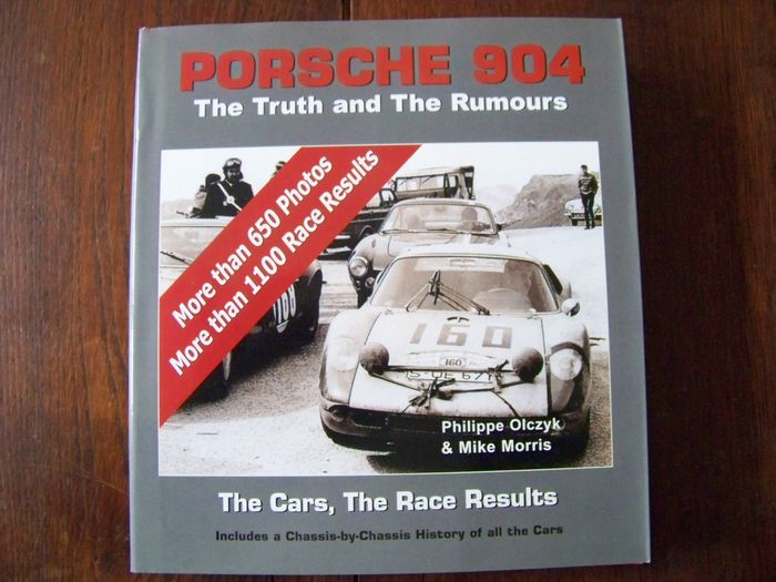 Boeken - 904 : The  Truth and The Rumours - The Cars, The Race Results - Porsche