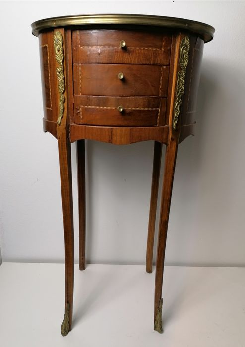 Chest of drawers - Bronze (gilt/silvered/patinated/cold painted), Wood