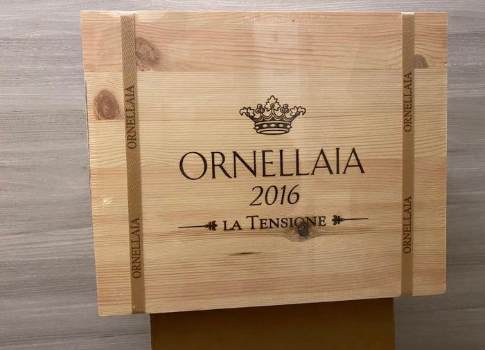 2016 Ornellaia, La Tensione - Super Tuscans - 6 Bottles (0.75L)