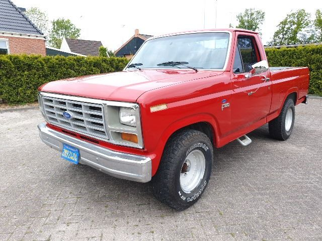 Ford USA - F150 - 1984