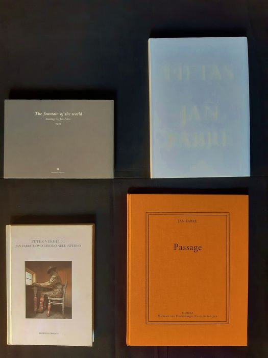 Jan Fabre - Lot of four volumes - 1997/2011