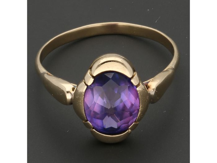 14 kt Gold - Ring Spinell