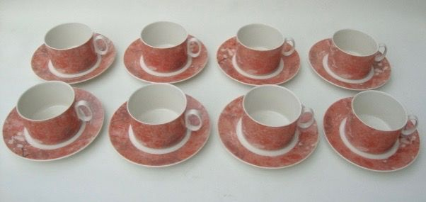 Villeroy & Boch - cup and saucers (8) - Porcelain