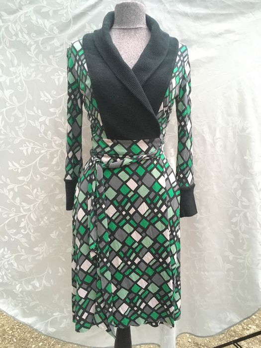 Diane von Furstenberg - Silk dress - Size: EU 34 (IT 38 - ES/FR 34 - DE/NL 32)