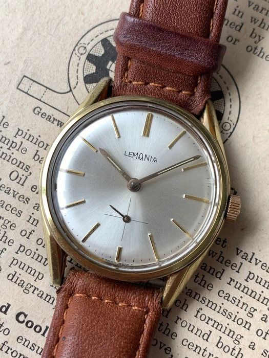 Lemania - With in-house 3110 movement - 933/61 - Men - 1950-1959