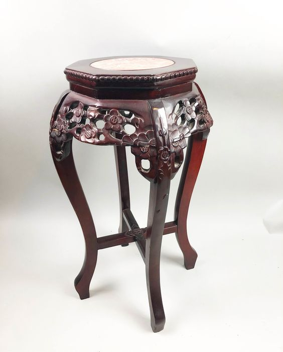 Stand - Hardwood, Lacquer - China - Second half 20th century