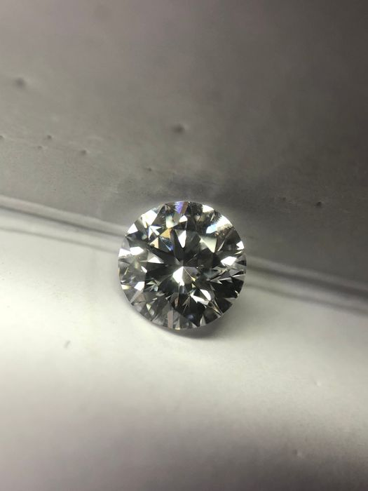 Diamond - 0.40 ct - Brilliant - D (colourless) - SI2
