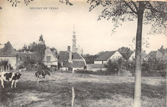 Netherlands - City & Landscape - villages and towns - Postcards (Collection of 89) - 1900-1970