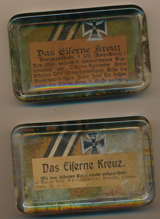 Germany - Army/Infantry - paperweight