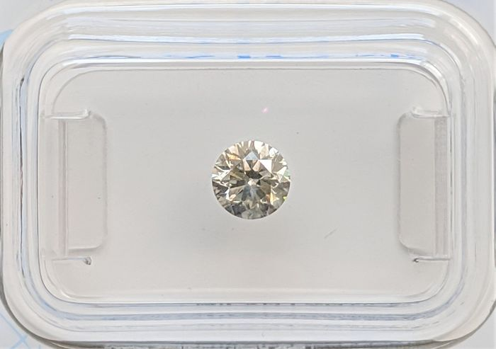Diamond - 0.53 ct - Brilliant - light grey - SI2, No Reserve Price