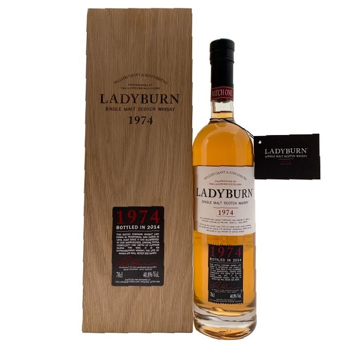 Ladyburn 1974 39 years old 1974 Batch 1 Limited Edition - b. 2014 - 70cl