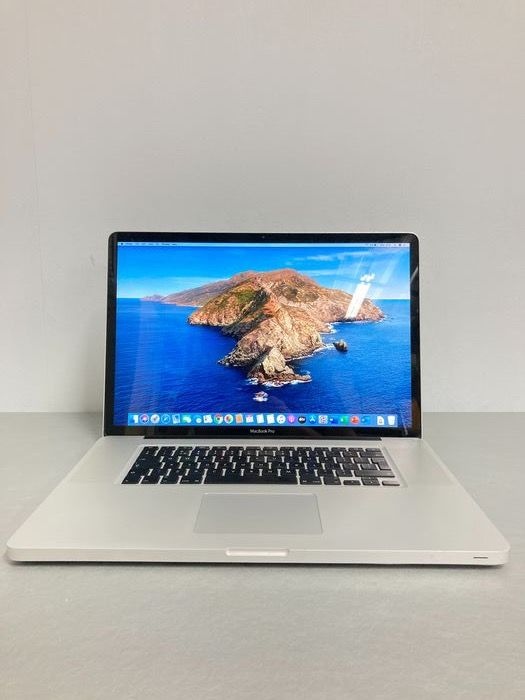 "Apple Macbook pro 17"" 2,8Ghz intel core 2 duo - 8GB RAM - 160GB SSD - Laptop"