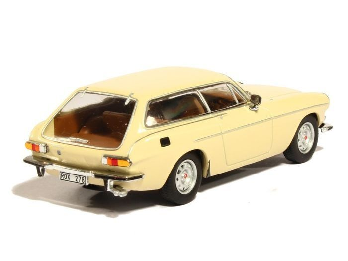 Triple9 Collection - 1:43 - Volvo P1800 ES 1972 Geel - Limited Edition 1008 pcs.