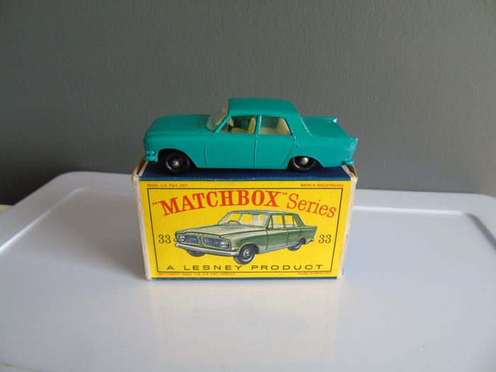 Matchbox - 1:64 - Lesney Ford Zephyr III - # 33