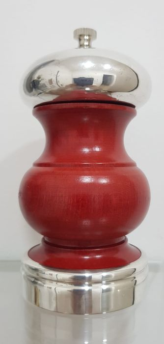 Pepper mill - .925 silver - Cusi - Italy - Second half 20th century