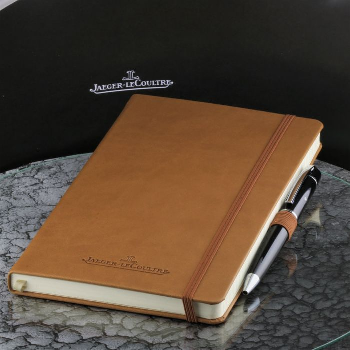Jaeger-LeCoultre - Le Coultre 2020 bussines black Chrom Concessionaire Pen with Leather Note Book  - High Price & Exclusive Watch Gift set - * No Reserve Price * - Men - 2011-present