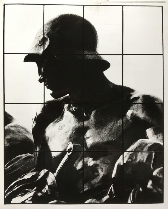 Gilbert & George, Charles Cowles Gallery, Inc. - War, 16 panel photography, 1980