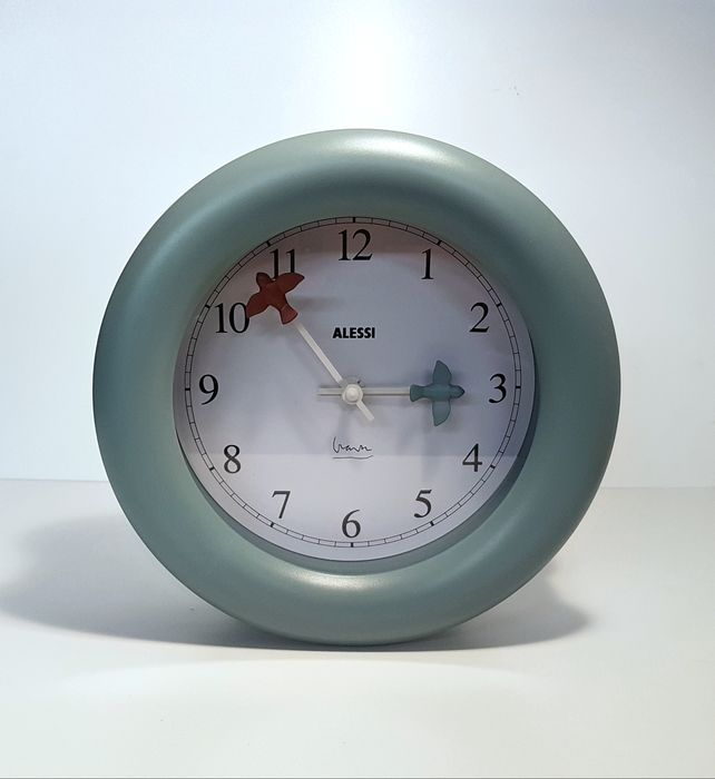 Michael Graves - Alessi - Wall clock / Kitchen clock 10 'Time Flies'