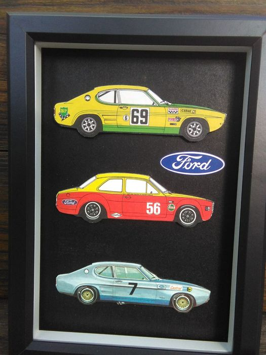 Decorative object - Kader. Ford capri - Ford