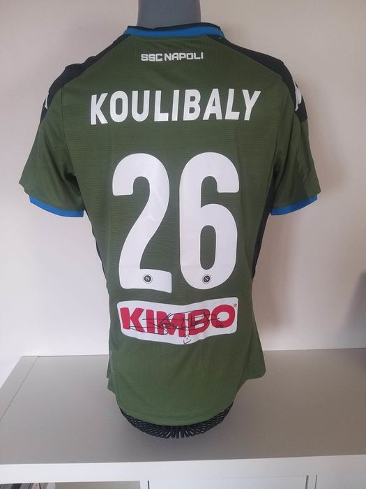 Napoli - Italian Football League - Kalidou Koulibaly - Football shirt