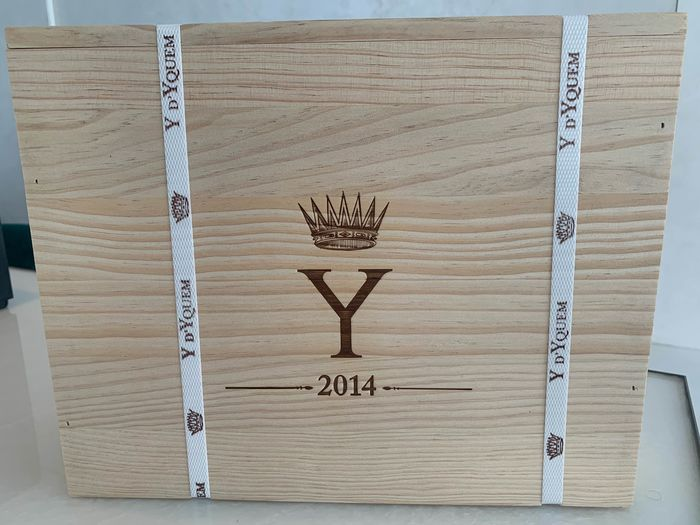 2014 Chateau Y d'Yquem - Bordeaux - 3 Bottles (0.75L)